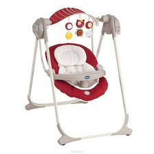 Козырёк к качельке Chicco Polly Swing Up цвет Red